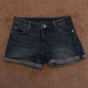 Justice Blue Jean Shorts